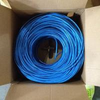 Buy cheap Made In China Network Cable 1000FT Bulk 4 Pair UTP Cat6 Network Cable Copper Lan Network Cat5e Cat 6 Cable 1000FT/Roll from wholesalers
