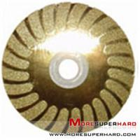 Buy cheap 125 Mm Sintered Turbo Hot Press Diamond Cutting Blades For Tiles GB Standard from wholesalers