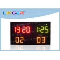 Buy cheap Different Color Led Electronic Scoreboard For Indoor and Outdoor Multi - Sports from wholesalers
