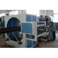 Buy cheap Hollowness Spiral HDPE Pipe Extrusion Line , Spiral HDPE Pipe Extruder Machine from wholesalers