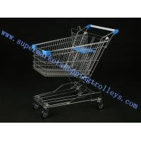 Buy cheap Light Duty Metal Steel Unfolding Supermarket Shopping Trolleys with Child Seat from wholesalers