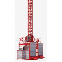 Buy cheap 2 × 2000kg Construction Hoist Elevator for industrial with Lifting Height 200m from wholesalers