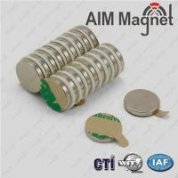 Buy cheap adhesive magnetic sheet 15x7x3mm self adhesive neodymium magnets from wholesalers
