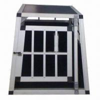 Buy cheap Aluminium Pet House with Auto Lock, Easy to Install, OEM Orders are Welcome from wholesalers