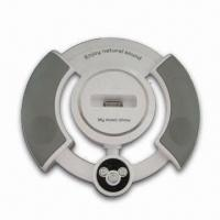 Buy cheap Wheel-shaped Portable Speaker with USB Audio Cable, Ideal for CD/Apple's iPod/iPhone/MP3/MP4 from wholesalers