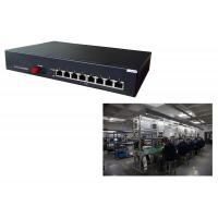 Buy cheap POE desktop switch 8 Gigabit TX POE port + 1 1000M TX ports , 8 port poe switch 0.775Kg from wholesalers
