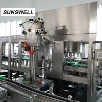 Buy cheap Plastic Bottling Juice Filling Machine / Production Line For Tea from wholesalers