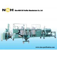 Buy cheap SINO-NSH GER Engine Oil Purification Plant from wholesalers