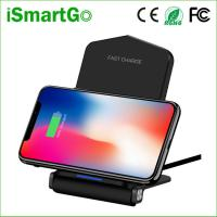 Buy cheap 5V 9V Fast Wireless Charger Foldable QI Wireless Charging Mat Pad for Galaxy S10/ S10+/S9/S9+/S8/S8+/Note 8/iPhone 8/X from wholesalers