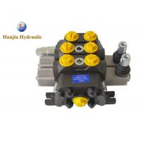 China DCV60 Liter High Pressure Manual Directional Control Valve Standard For Drilling Machines on sale