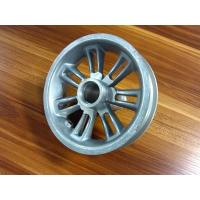 Buy cheap Pecision Aluminium Die Casting And CNC Machining Driving Wheel For Machinery from wholesalers