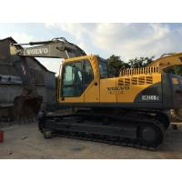 Buy cheap Long Reach Used Volvo Excavator EC240BLC 19.8ft Digging Depth With 6 Cylinders from wholesalers