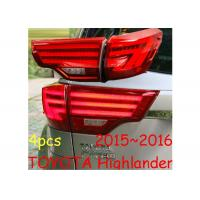 Buy cheap LED Rear Tail Light Sets Assembly Fit for Toyota HighLander 2015-17 high quality & durable waterproof from wholesalers