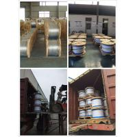 Buy cheap Hot Dipped 1 2 Inch Galvanized Steel Rope For Guy Wire With Left Hand Lay Direction from wholesalers