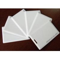 Buy cheap Thin white ID card, Thick white ID card, inductive ID card, identification card, blank ID card, access control card from wholesalers