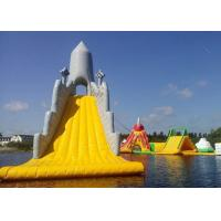 Buy cheap Customized Color Great Commercial Inflatable Water Slides For Water Equipment from wholesalers