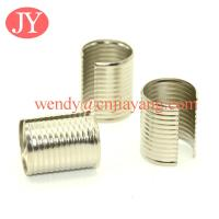 Buy cheap Silver color Folder Leather Cord Buckle Round Rope Clip End Clasps from wholesalers