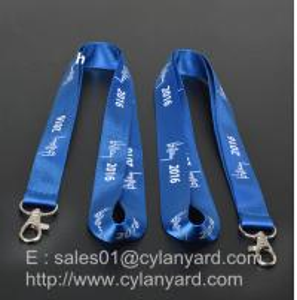 Buy cheap Durable Blue Nylon Neck Ribbon directly from China nylon lanyard factory product