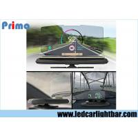 Buy cheap HUD Head up Display Car Cell Phone GPS Navigation Image Reflector Holder Mount from wholesalers