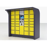 Buy cheap Intelligent Automated Parcel Lockers for Fresh Foods Fruits Vegetables Parcel Express Delivery from wholesalers