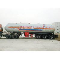 Buy cheap Tri Axles Tank Semi Trailer For 40000L- 48000L Liquid Ammonia Transport from wholesalers