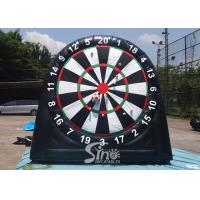 Buy cheap 3m high 3in1 giant inflatable golf dart board with support base for kids N adults from golf dart game factory from wholesalers