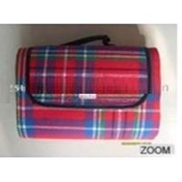 Buy cheap polyester acrylic picnic blanket  from wholesalers