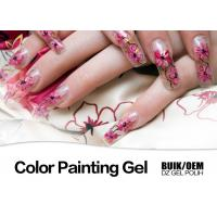 Buy cheap Harmless Gel Nail Paint Polish Strong Adhesion MSDS / SGS Authentication product