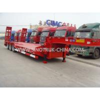 Buy cheap low bed trailer 3 axles BPW brand   12.00R20 tyres  ABS  Optional JOST support leg from wholesalers