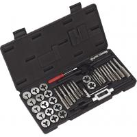 Buy cheap 76pcs Metric Split Dies Powder Metallurgy Tap and Die Sets with Alloy Steel / HSS from wholesalers