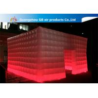 Buy cheap 210T Polyester Fantastic House Inflatable Cube Tent Size 5*5m product