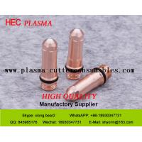 Buy cheap Hypertehrm Silver Plasma Cutting Tips 220552-S , HPR130 Consumables 50Amp Plasma Electrode from wholesalers