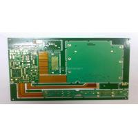 Buy cheap 1.6mm FR4 & PI 10 Layer Rigid Flexible HDI PCB Design Circuit Boards / Rigid Flex Board Layout Fabrication from wholesalers