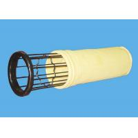 Buy cheap Industrial Dust Collector Bag Filter Cage Zinc Plated Rib Filter Cage from wholesalers
