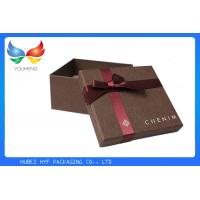 Buy cheap Black Paper Luxury Gift Boxes Packaging Delicate Design With Fine Craftsmanship from wholesalers