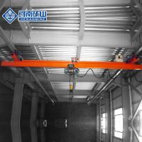 Buy cheap Electric Monorail Telpher Single Girder Overhead Crane Custom Capacity from wholesalers