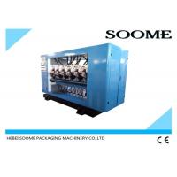 Buy cheap PLC Control Thin Blade Slitter Scorer Machine For Corrugated ,Tungsten Steel Alloy Knife from wholesalers
