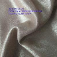 "Buy cheap F5709 lady fashion fabric poly chiffon with gold foil 75DX75D 57/58"" from wholesalers"