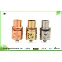 Buy cheap Stainless Steel / Copper E Cig Rebuildable Atomizer Tank Doge V2 RDA from wholesalers