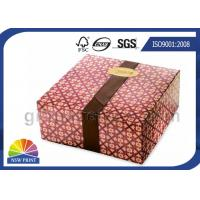 Buy cheap Printed Food Packaging Box Cardboard Boxes & Luxury Chocolate Packing Box product