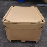 Buy cheap 1000L Rotational molded fish totes, fish transport and storage bin,large fish cooler box from wholesalers