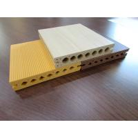 Buy cheap Moistureproof Hollow WPC Composite Decking Plates Outside Environment from wholesalers