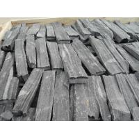 Buy cheap Natural Fieldstone Slate Stone Veneer Black Slate Stone Veneer for Wall Cladding from wholesalers