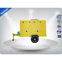 Buy cheap 12 Cylinder 75dB quietest Trailer Mounted Generator large in - line Config with Dry oil filter from wholesalers