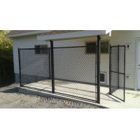 Buy cheap Heavy Duty  9gauge 50x50mm ral 6005 Green color Chain Link Fencing with Brace from wholesalers