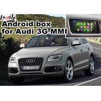 Buy cheap 2010-2015 AUDI 3G MMI Multimedia Car Navigation System for A4 A6 A8 Q5 Q7 rear view cast screen from wholesalers