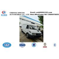 Buy cheap Hot sale IVECO  ice cream mobile food refrigerated van truck, IVECO 4*2 LHD diesel refrigerator minibus for sale from wholesalers