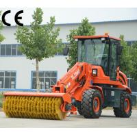 Buy cheap street loader brush sweeper TL2500 with portable opened sweepers,road sweeper truck product