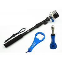 Buy cheap Gopro Handheld Camera Holder Stick All-Aluminum Alloy Telescopic Pole , Extendable Arm For Selfies from wholesalers