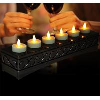 Buy cheap Remote Control Led Flameless Wireless Rechargeable Tealight Led Candle With Moving Flame from wholesalers